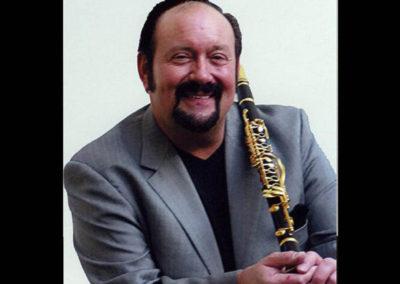 Clarinetist Bob Draga